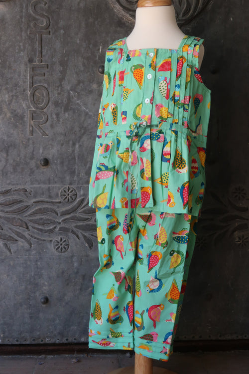 Girl's Bird PJ's