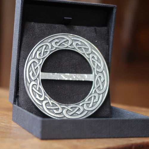 Nouveux Celtic Scarf Ring