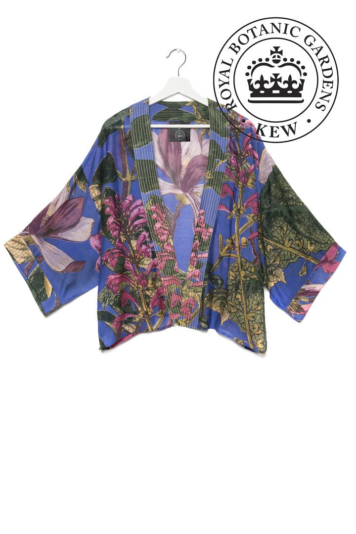 One Hundred Stars Kimono Magnolia Purple Kew