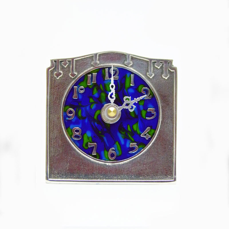 Pewter Knox Clock