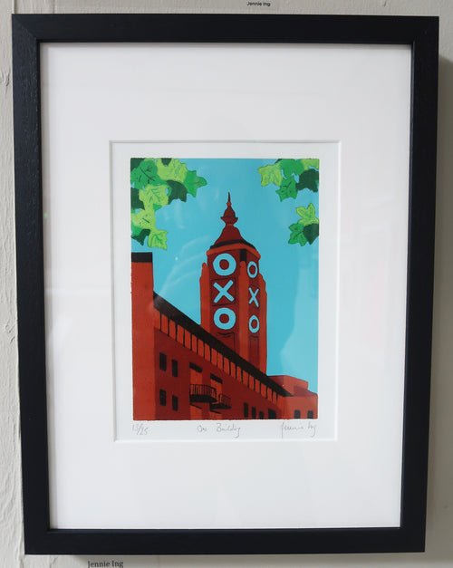 Jennie Ing- OXO Building (Framed)