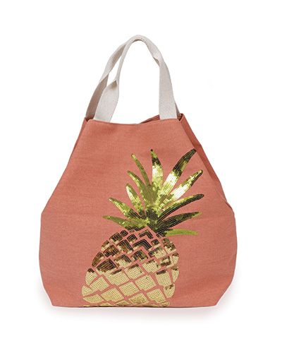 Powder Pinapple Bag