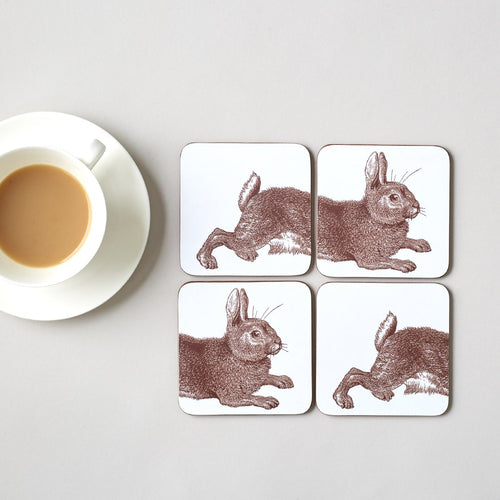 Rabbit and Cabbage Coasters