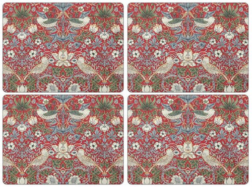 William Morris Strawberry Thief Placemats