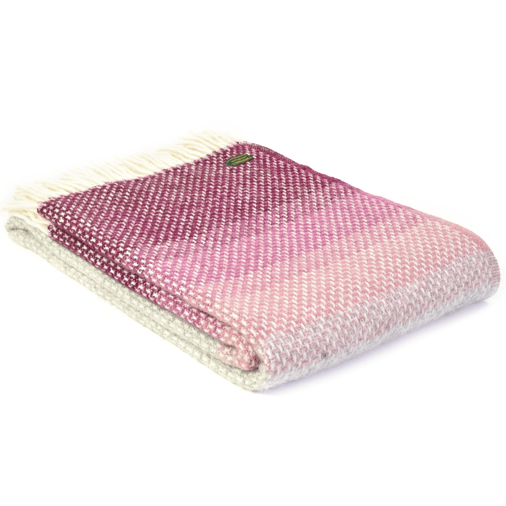 Ombre Throw Rosewood