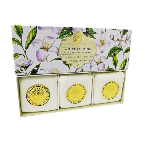 White Jasmine Soap Gift Box