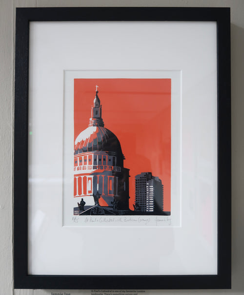 Jennie Ing- St Paul's Cathedral (Framed)
