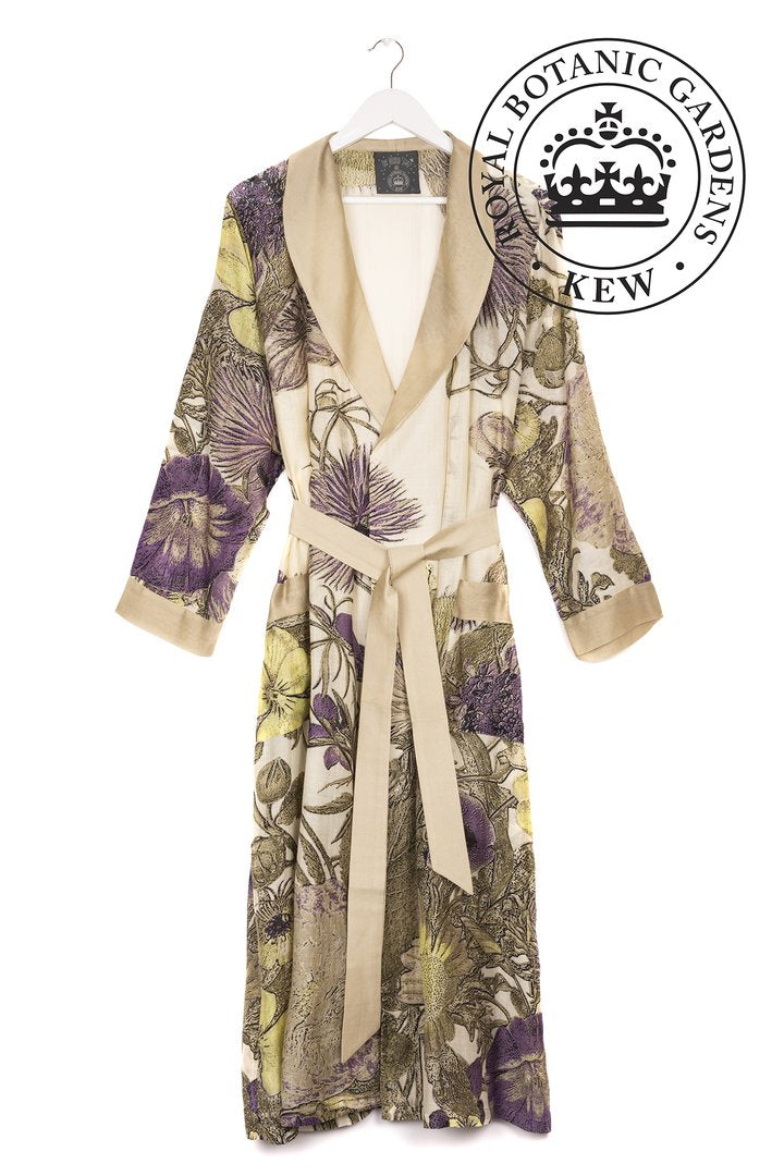 One Hundred Stars Dressing Gown Thistle Purple