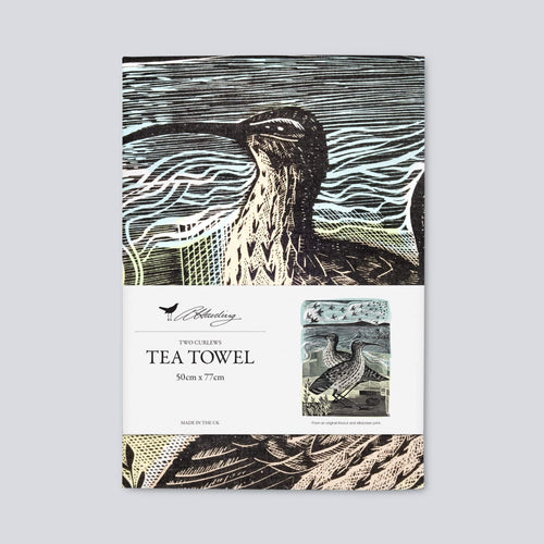 Angela Harding Curlews Tea Towel