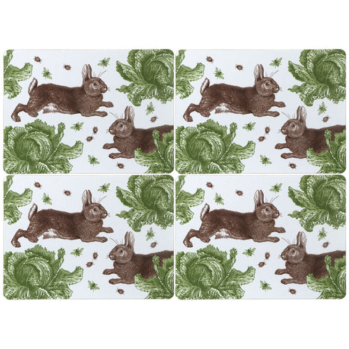 Rabbit and Cabbage Placemats