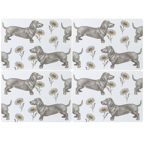 Dog and Daisy Placemats