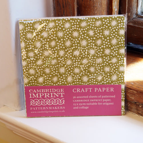 Square Craft Paper
