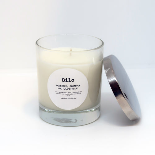 Bilo Luxury Candle- Dewberry, Oakapple and Grapefruit