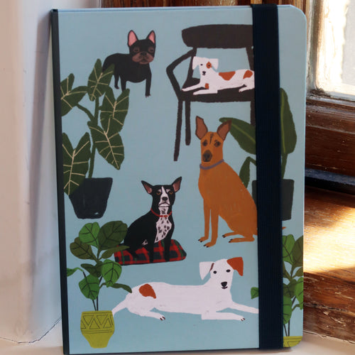 A5 Dog Palais Notebook