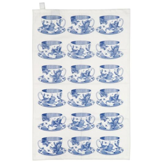 Teacup Tea Towel