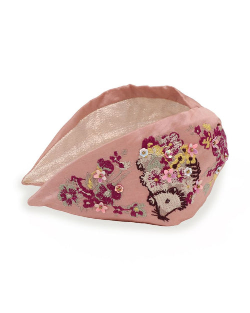Headband- Hedgehog Pink
