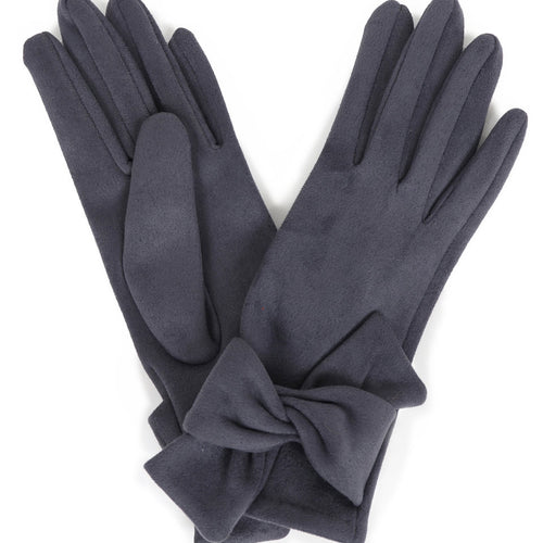 Henrietta Gloves- Charcoal