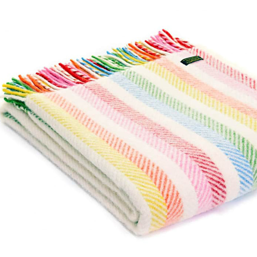 Tweedmill Striped Throw