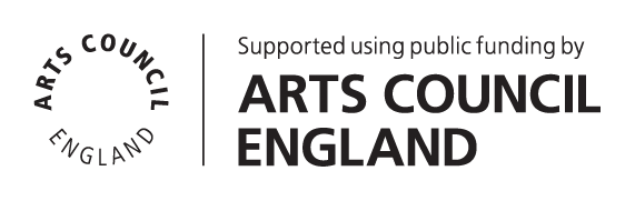 Supported by the Arts Council England