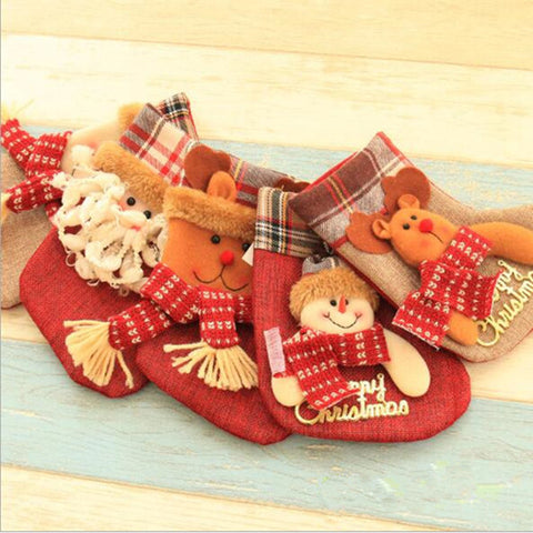 Cute Christmas Stockings for Kids 1Pc
