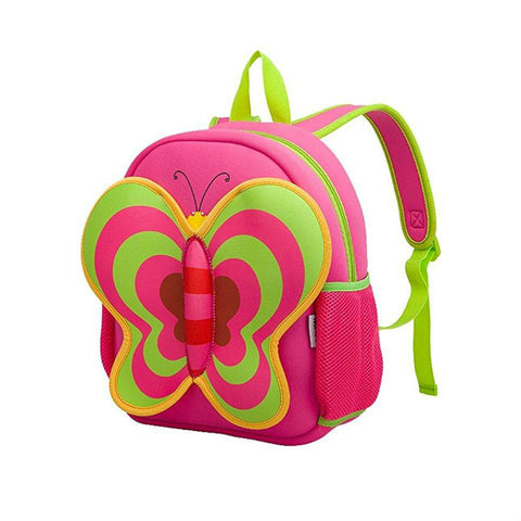 Multi-Color Butterfly Little Kids Backpack