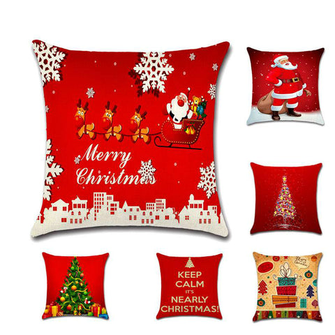 Cute Christmas Decorative Pillow Covers