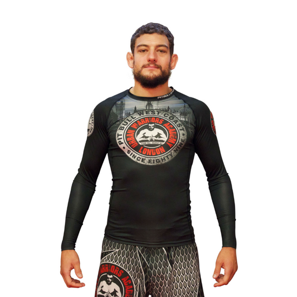 URBAN WARRIORS ACADEMY / PITBULL - Rashguard V1 - Long Sleeve