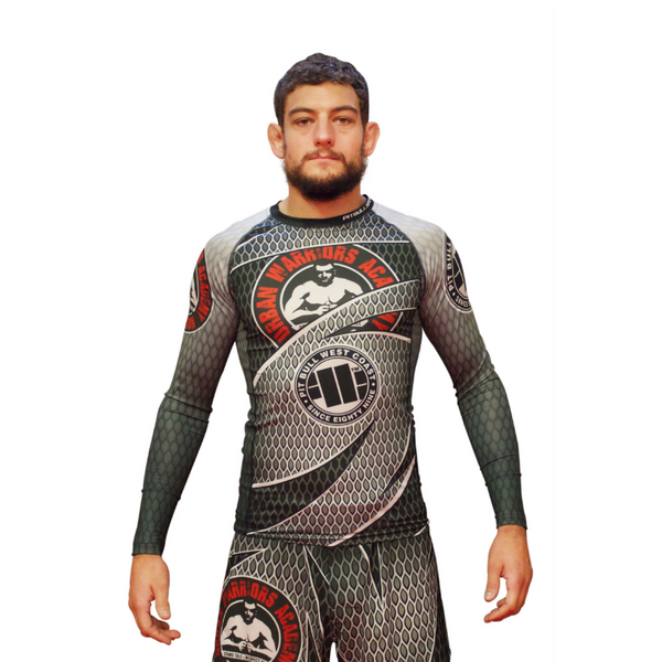 URBAN WARRIORS ACADEMY / PITBULL - Rashguard V2 - Long Sleeve