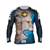 Kingz Royal Lion V2 Long Sleeve Rash Guard by Meerkatsu