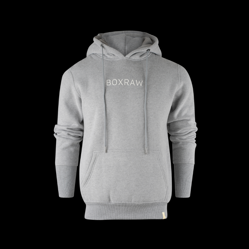 BOXRAW DEMPSEY HOODIE - GREY