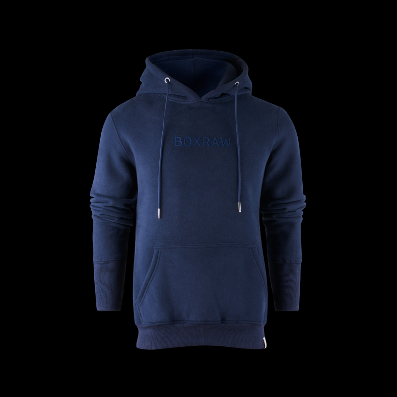 BOXRAW DEMPSEY HOODIE - NAVY