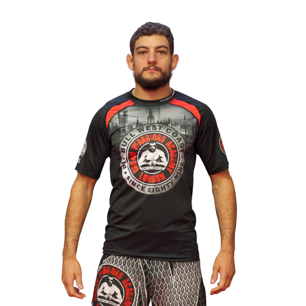 URBAN WARRIORS ACADEMY / PITBULL - Mesh Training T-Shirt V1