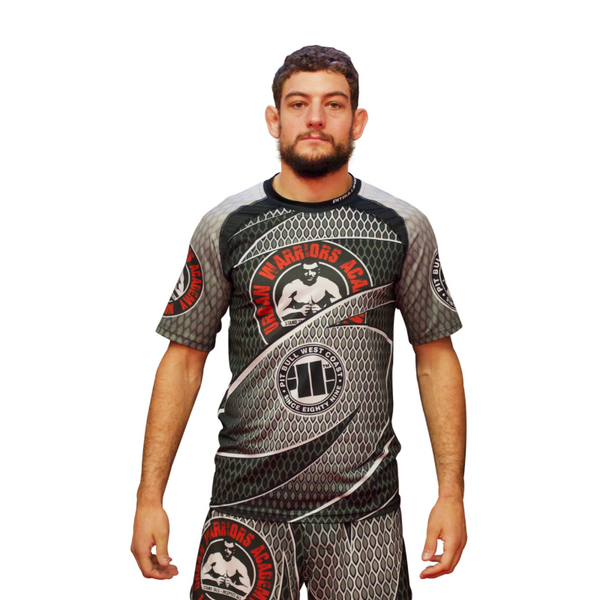 URBAN WARRIORS ACADEMY / PITBULL - Mesh Training T-Shirt V2