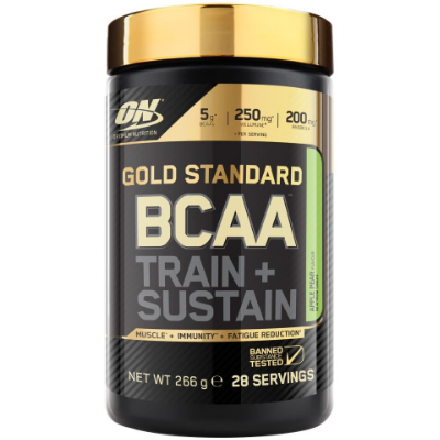 Optimum Nutrition Gold Standard BCAA - Train + Sustain - 266 grams / 28 servings