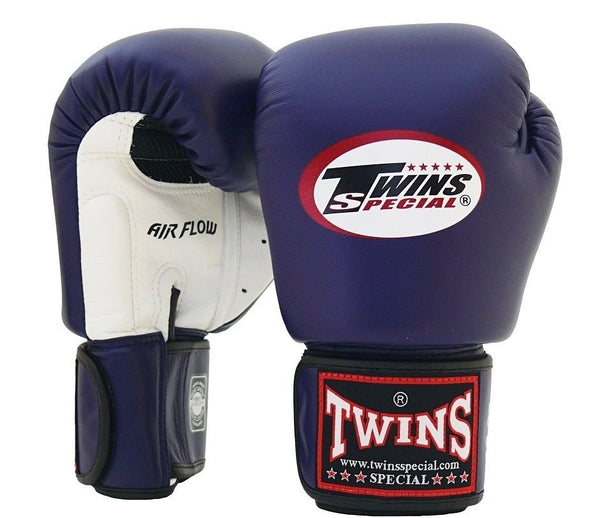Twins Air Flow Boxing Gloves - Navy/White