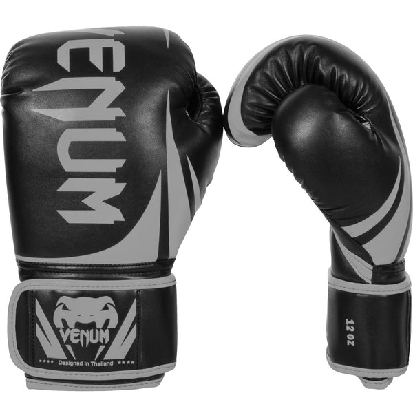 Venum Challenger 2.0 Boxing Gloves - Black/Grey