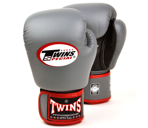Twins Air Flow Boxing Gloves - Grey/Black