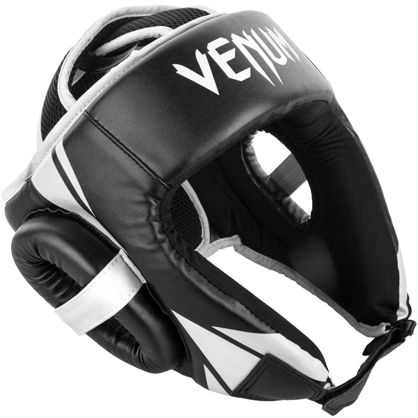 Venum Challenger Open Face Headgear - Black/White
