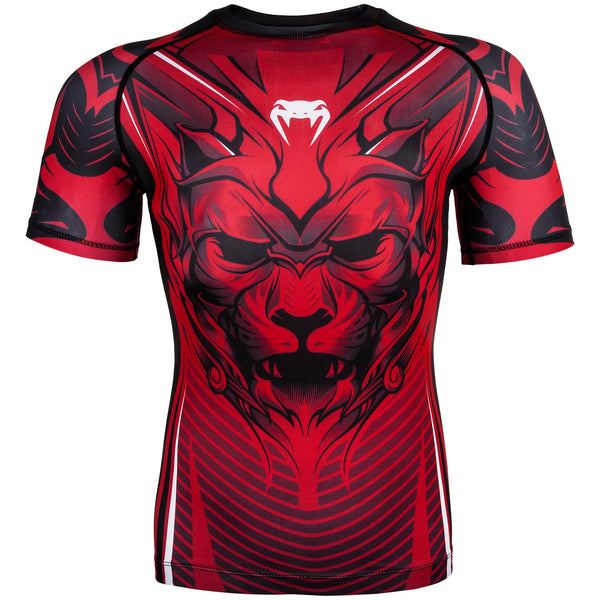 Venum Bloody Roar Rashguard - Short Sleeves - Red