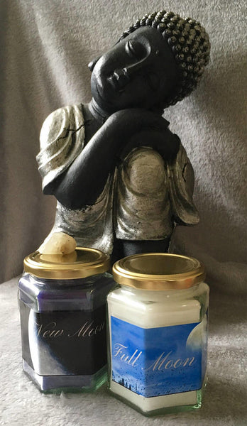 Manifestation Moon Candles