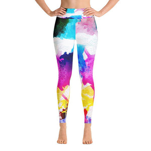 Dancing Colors Mandala Yoga Leggings