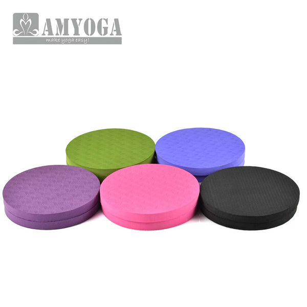 Yoga Workout Knee, Elbow or Wrist Pad Cushion (2 Pack)