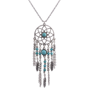 Dreamcatcher Lotus Necklace