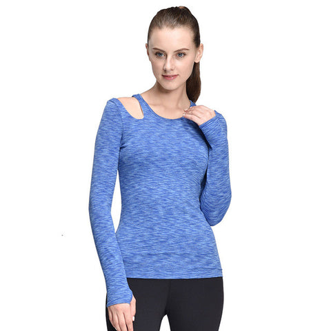 Long Sleeve Yoga Compression Top