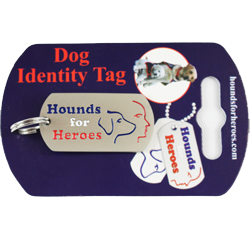 Dog collar ID tag - Sorry this item is out of stock until further notice.