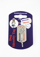 Dog collar ID tag