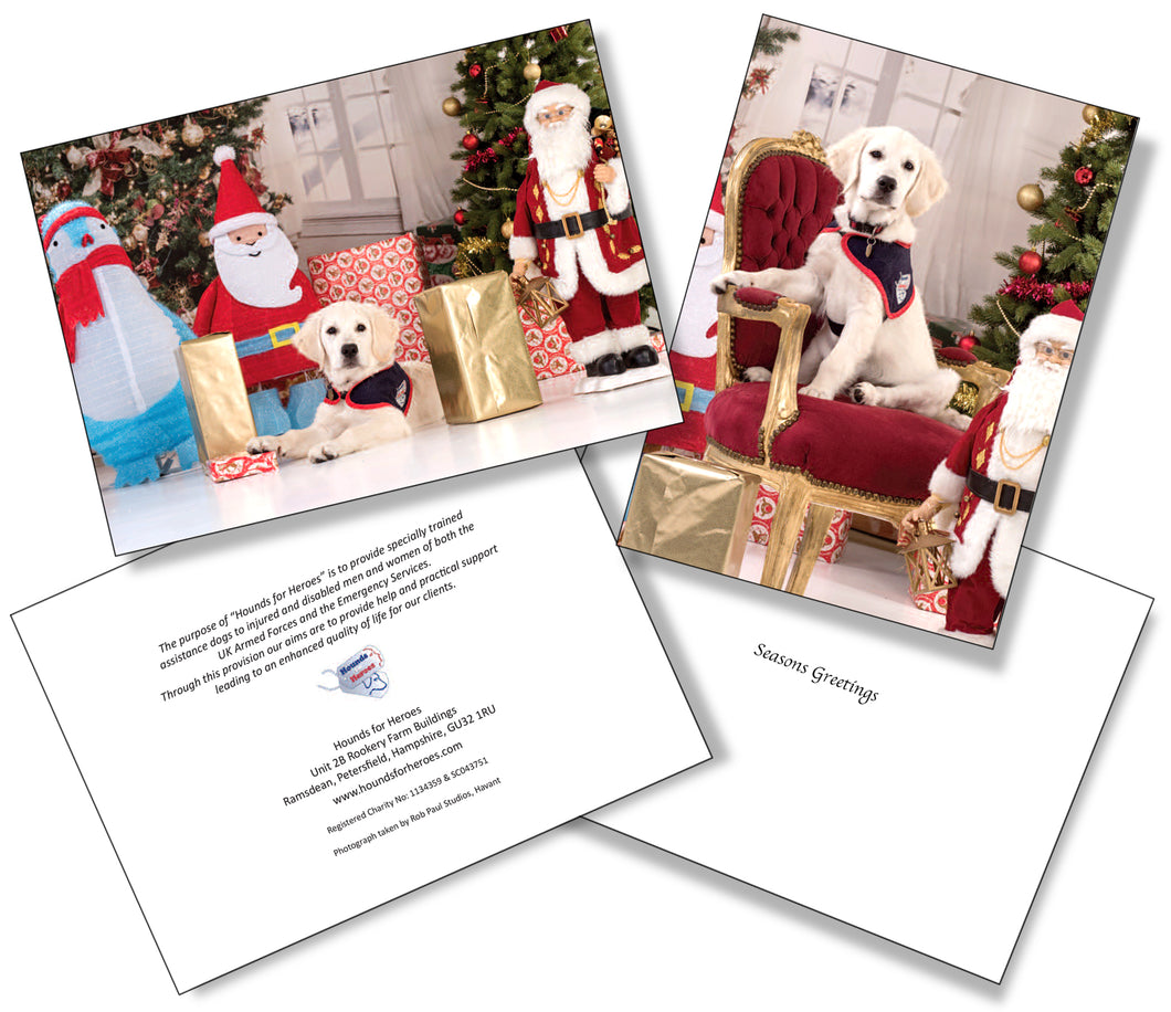 Christmas cards - 'Poppy's first Christmas'