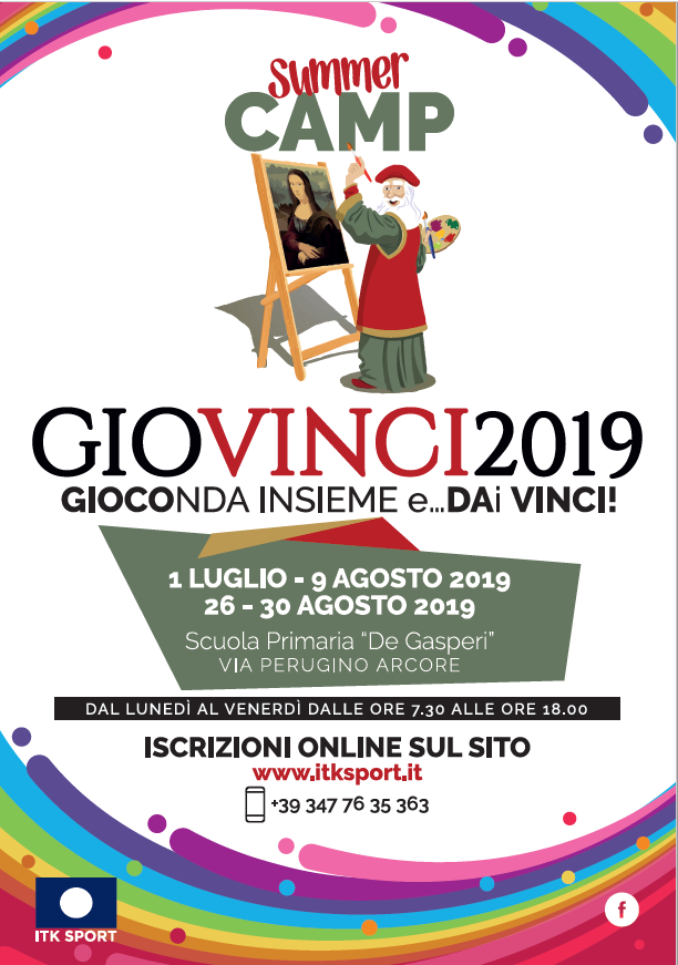 "<center>Summer Camp ""GIOCONDA IN SIEME e… DA(i) VINCI""</center>"
