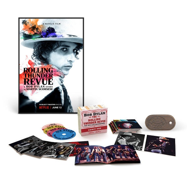 The Rolling Thunder Revue: The 1975 Live Recordings - Deluxe 14CD Box Set Ultimate Bundle - Limited Quantity!