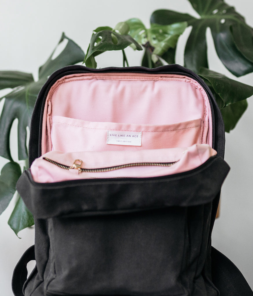 sleep and simple backpack